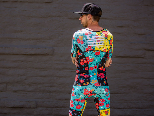 """Mens Flower Infusion"" FreeMotion 2.0 Aero Suit (Men's)"