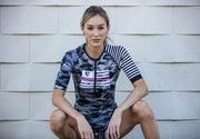 """GREY CAMO"" Aero Tri Top (Women)"