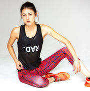 """RedKat"" Anti-Quit PowerRun Capri Leggings (Womens)"