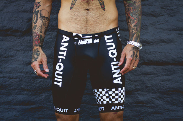 """Anti-Quit"" Tri Shorts (Men)"