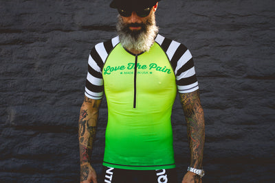"""Neon Bandit"" Aero Tri Top (Men)"