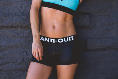 """Anti-Quit"" Run Fast Shorts"