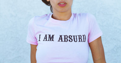 """Absurd"" Fitted Tee"
