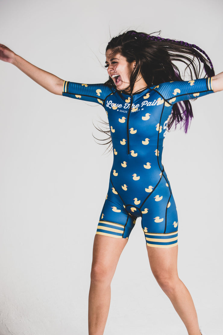 """Blue Ducky"" Speedstream Race Suit (Womens)"
