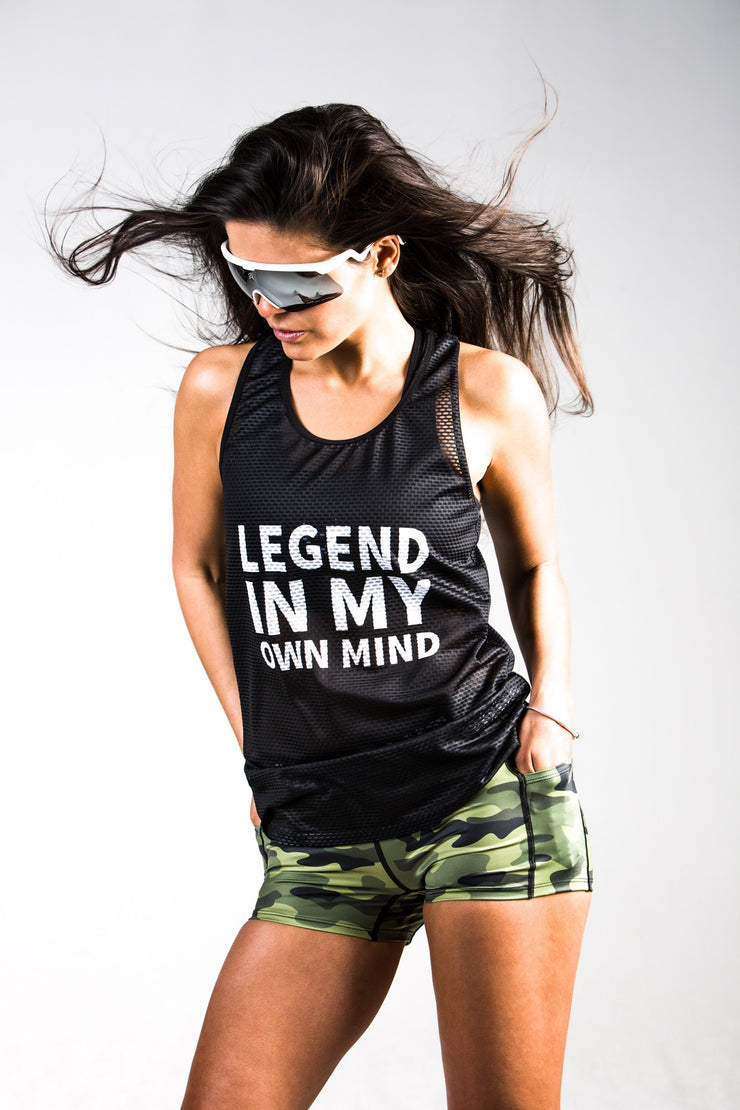 """Legend"" Run Flow Singlet  (Womens)"