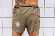 """Khaki"" Distance5 Men's Performance Run Shorts"