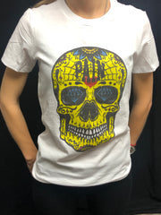 """MrSkull"" FITTED TEE"