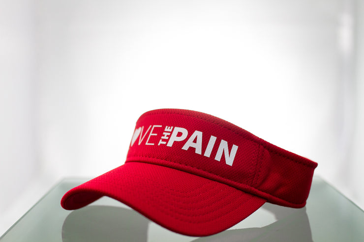 """Love The Pain"" Visor"