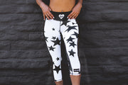 """StarBright Anti-Quit PowerRun Capri Leggings (Womens)"