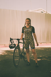 """The Leopard"" FreeMotion Aero Suit (Womens)"