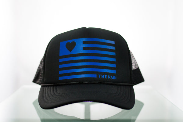 """Flag"" Low Profile Trucker"