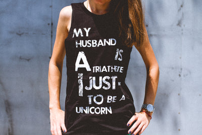 """I Just Want To Be A Unicorn"" Muscle Tank"