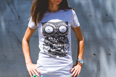"""The Owl"" Fitted Tee"