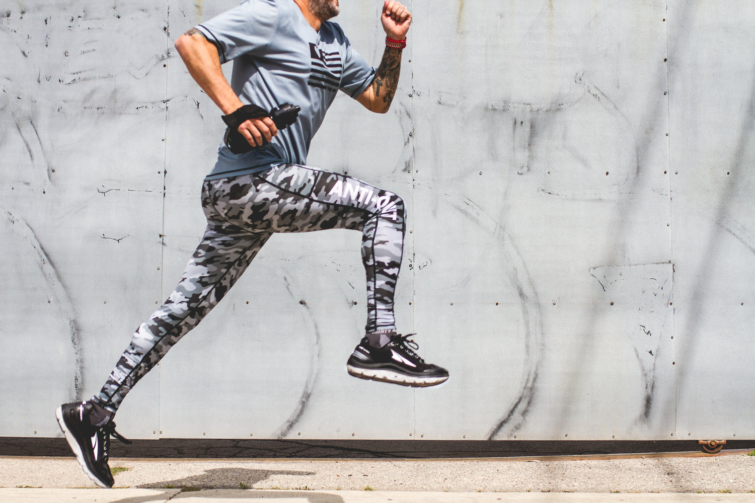 """Camo"" Anti-Quit Performance Run Tight"