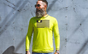 """Fluorescent"" Performance Run Shirt Long Sleeve"