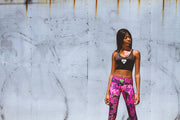 """Fresh"" Anti-Quit PowerRun Capri Leggings (Womens)"