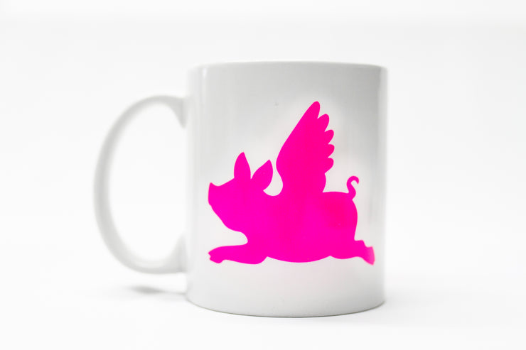 """Make Pigs Fly"" Coffee Mug"