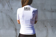 """Track White"" Aero Race Jersey (Women)"
