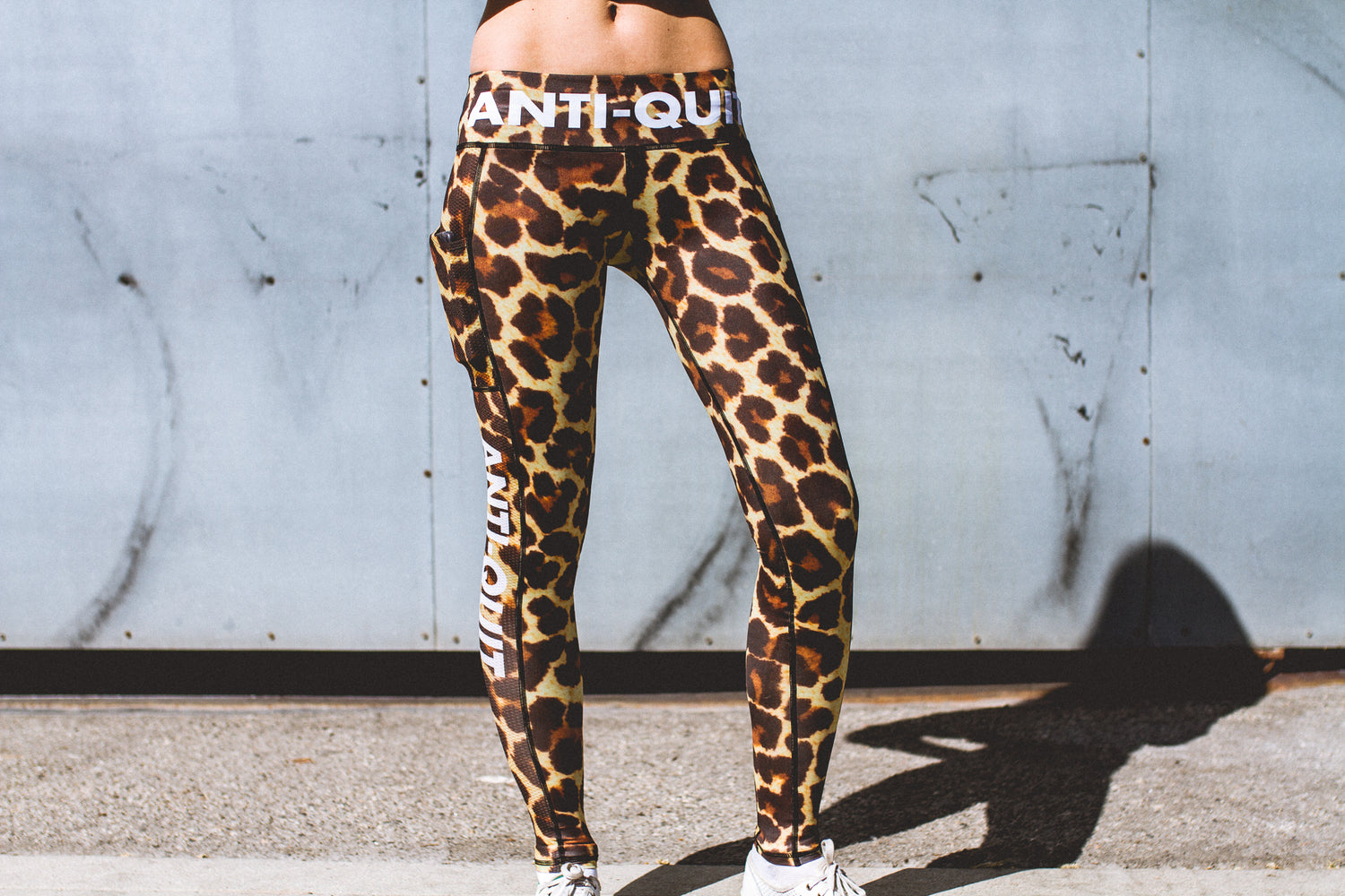 """Leopard"" Speed Performance Run Tights"