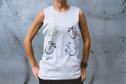 """My Bike"" Muscle Tank"