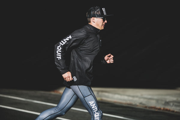 """Carbon"" Anti-Quit Performance Run Tight (Mens)"