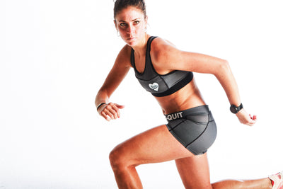 """Carbon"" Run Fast Shorts"