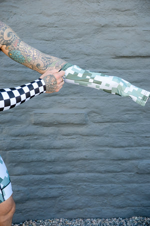 """Earth Camo"" Arm Warmers"