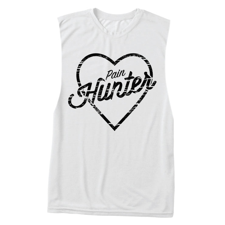 """Love Pain Hunter"" Muscle Tank"