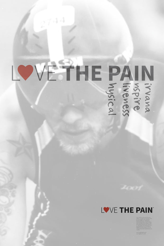 """Pain Cave"" Poster"