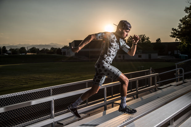 """RAW DOTS"" PureSpeed™ Triathlon Speed Suit (Men)"