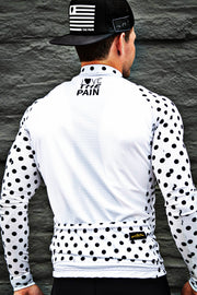 """White Dots"" Endurance Long Sleeve Jersey"