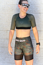"""Infantry"" Sleeved Performance BRA"