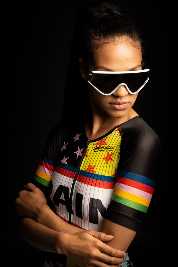 """Rockstar Quilt"" Freemotion 2.0  Race Suit (Womens)"