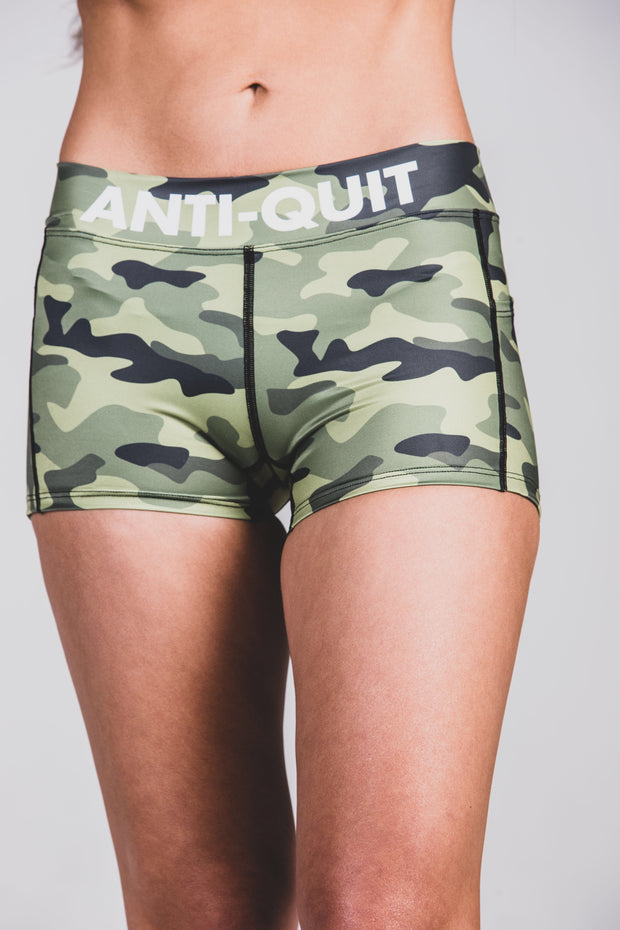 """Battle Camo"" Run Fast Shorts"