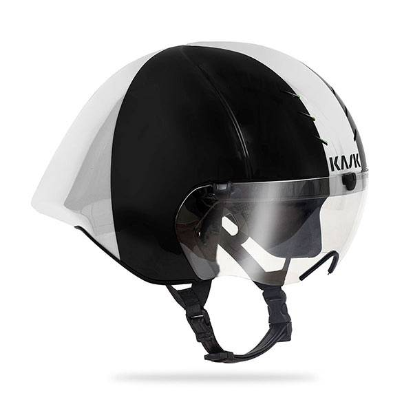 KASK MISTRAL HELMET BLACK AND WHITE
