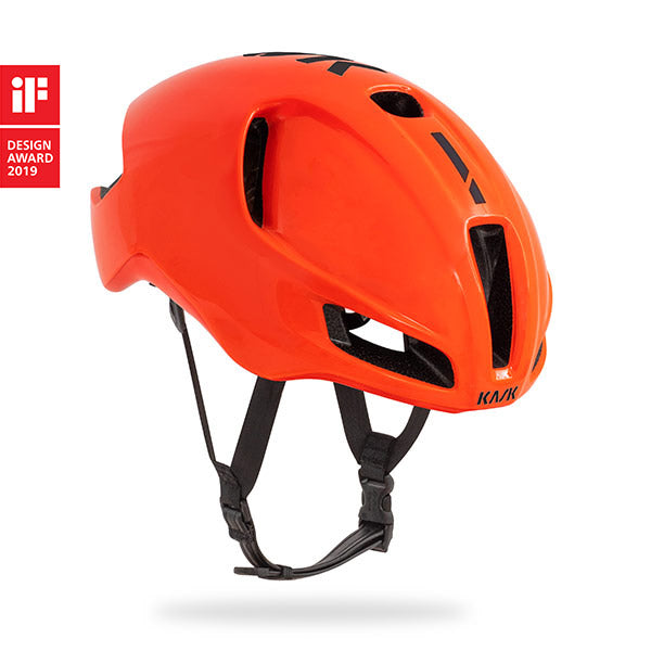 KASK UTOPIA HELMET ORANGE BLACK