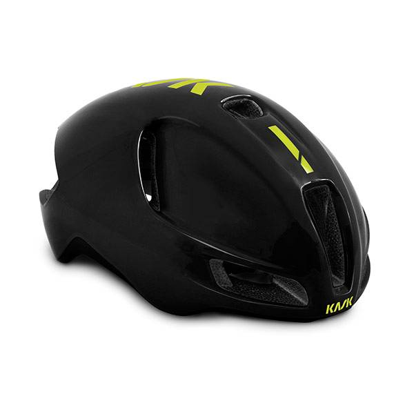 KASK UTOPIA HELMET BLACK YELLOW