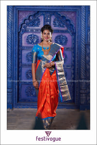 Padmam Design Gadwal Pattu Saree