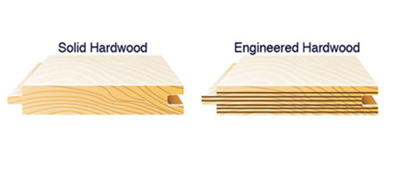 Hardwood Flooring Engineered Vs Solid Universal Hardwood