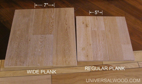 offered below are a few frequently asked questions that you will want to be familiar with before purchasing wide plank hardwood floors