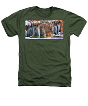 A Spring That Knows No Summer. - Hanging Lake Print - Heathers T-Shirt