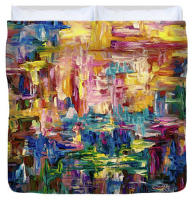 Abstract - Colorful World - Duvet Cover