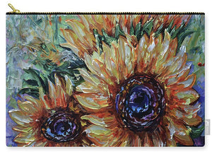 Ah, Sunflower By Lena Owens - Carry-All Pouch