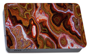 Earth Tones Abstract  - Portable Battery Charger