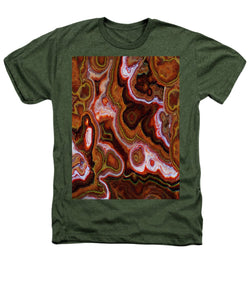 Earth Tones Abstract  - Heathers T-Shirt