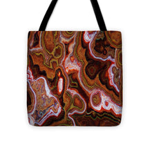 Earth Tones Abstract  - Tote Bag