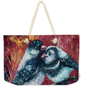 Love Birds   - Weekender Tote Bag