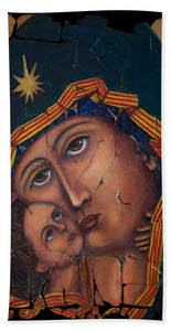 Mother Of God By Lena Owens - Beach Towel