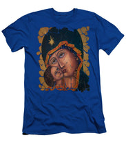 Mother Of God By Lena Owens - Men's T-Shirt (Athletic Fit)