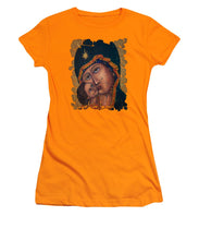 Mother Of God By Lena Owens - Women's T-Shirt (Athletic Fit)